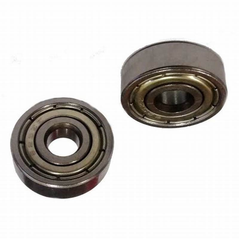 5*23*7mm Good Quality Round Shape Roller Sliding Nylon Pulley with 625zz Bearing